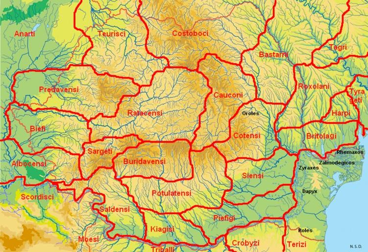 Картинки по запросу Răspândirea triburilor geto-dace