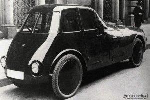 automobilul aerodinamic persu