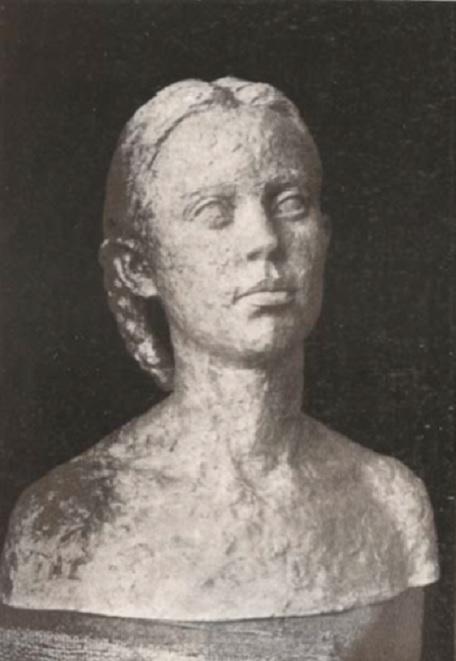 Cap de fetita 1 - Maria Grigorescu