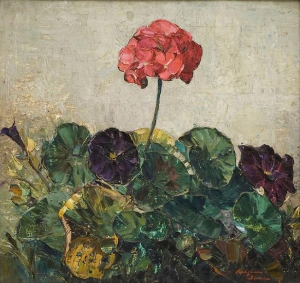 Compozitie cu flori