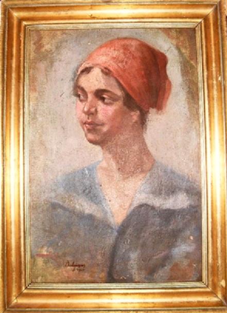 Portret de femeie P Bulgaras