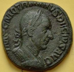 Traian Decius sestert Dacia av