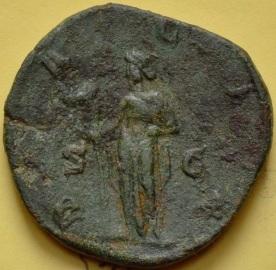 Traian Decius sestert Dacia rev