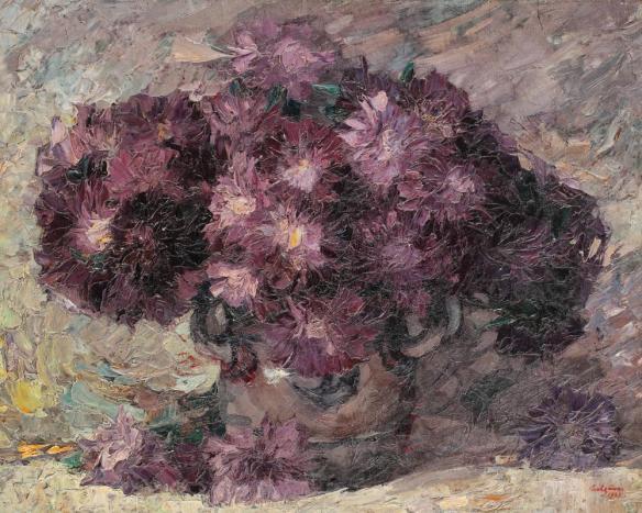 Ulcica cu crizanteme